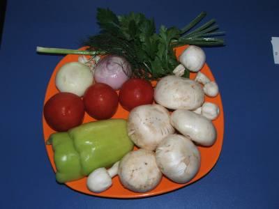 Tocanita de ciuperci culese din padure