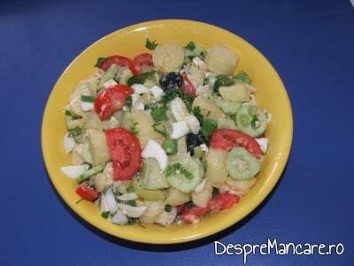 salata orientala, de vara
