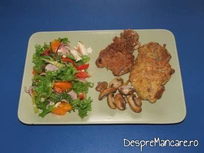 salata de rosii galbene cu mozarella 1