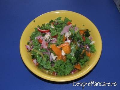salata de rosii galbene cu mozarella