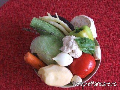 Ghiveci oltenesc, de legume