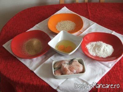 Ingrediente pentru pane-uri de somn cu seminte de susan