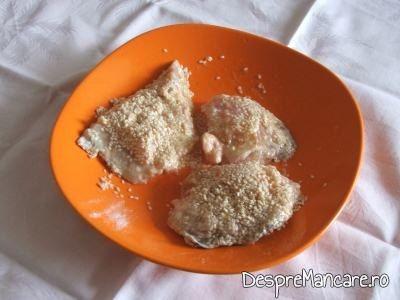 File-uri de somn date prin susan pentru pane-uri de somn cu seminte de susan.