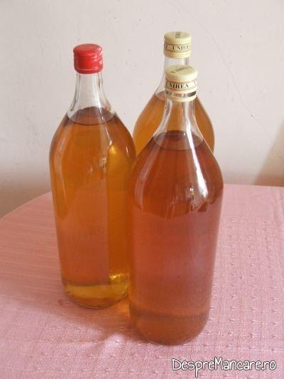 Vinul casei din smochine, pentru creveti in sos de rosii, cu orez.