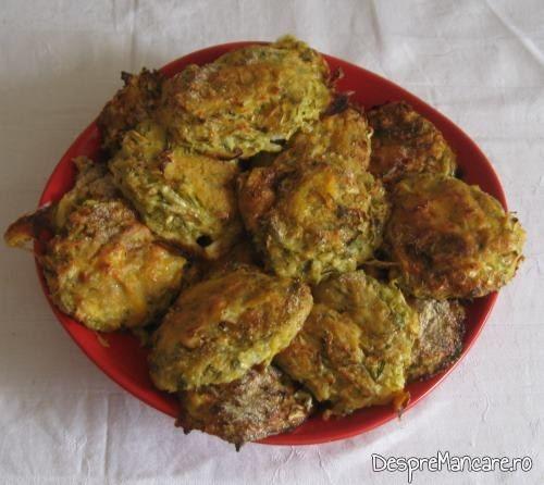 Chiftelute din legume, la cuptor.