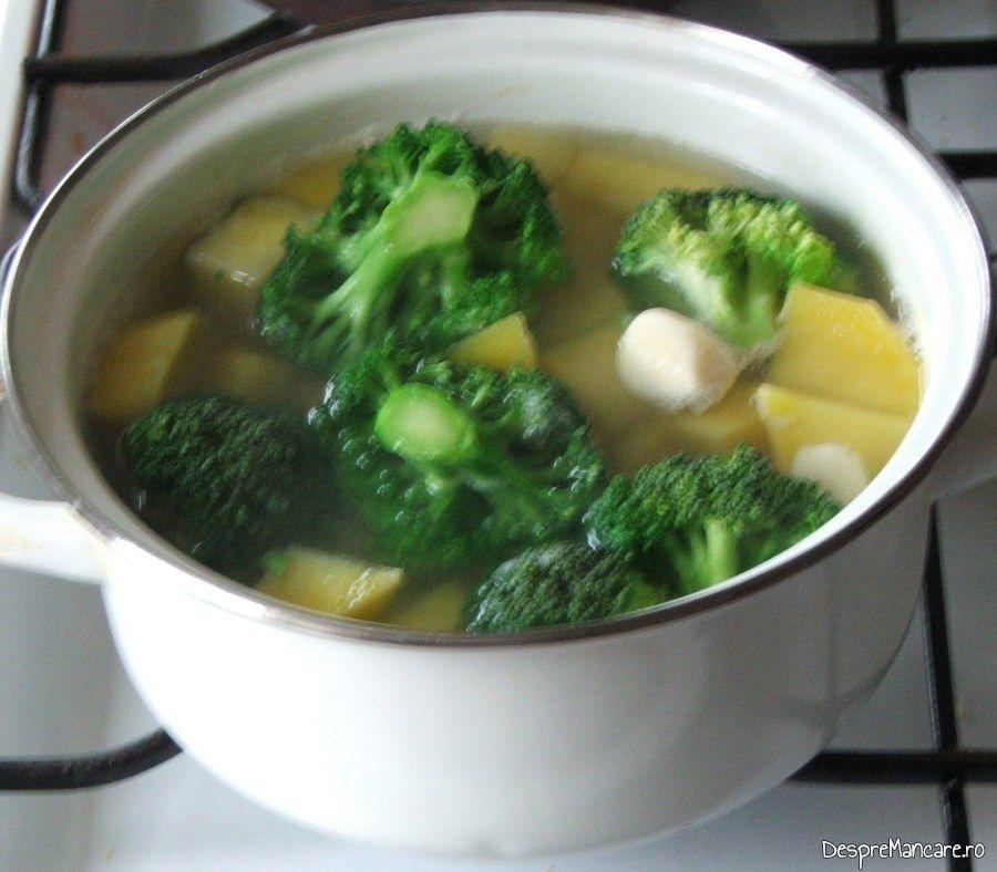 Fiebere legume pentru garnitura la iepure cu legume in sos de vin.