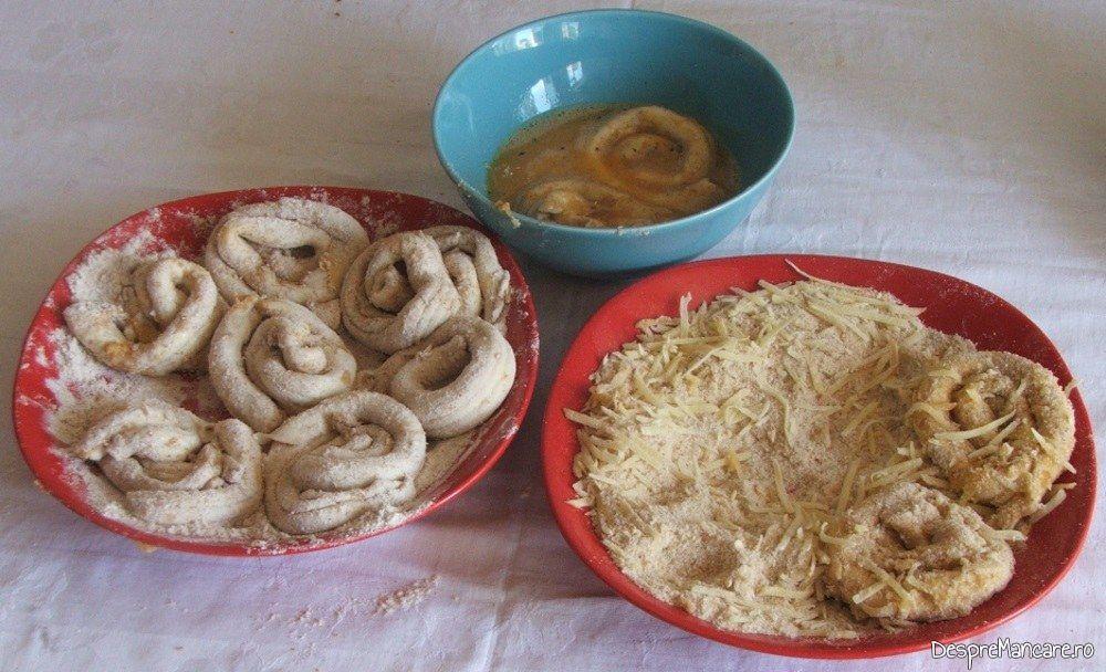 """""""Colacei""""din maduvioare dati prin ingrediente pentru maduvioare de vita, pane'."""