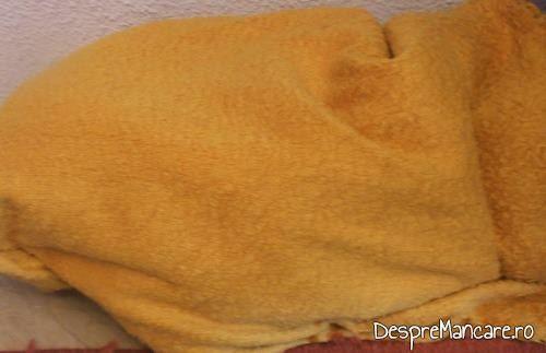 Racire ambalaje cu amestec de rosii si ardei gras/ ardei capia/ gogosari, pentru iarna, in paturi.