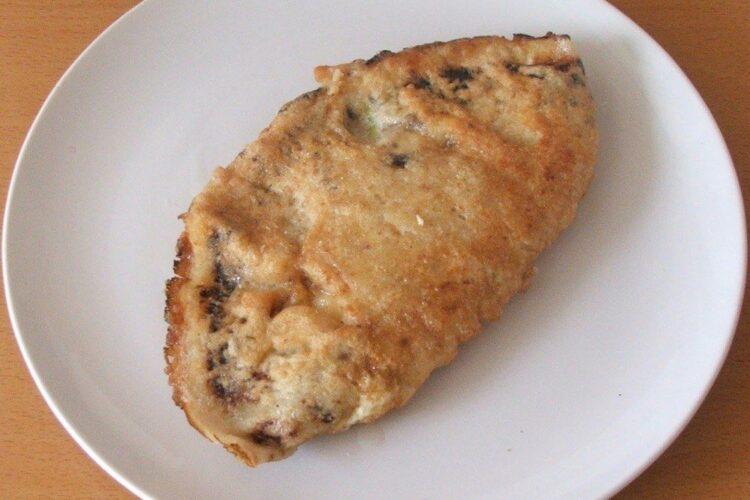 Pane'-uri din clatite umplute cu carne si cas afumat.