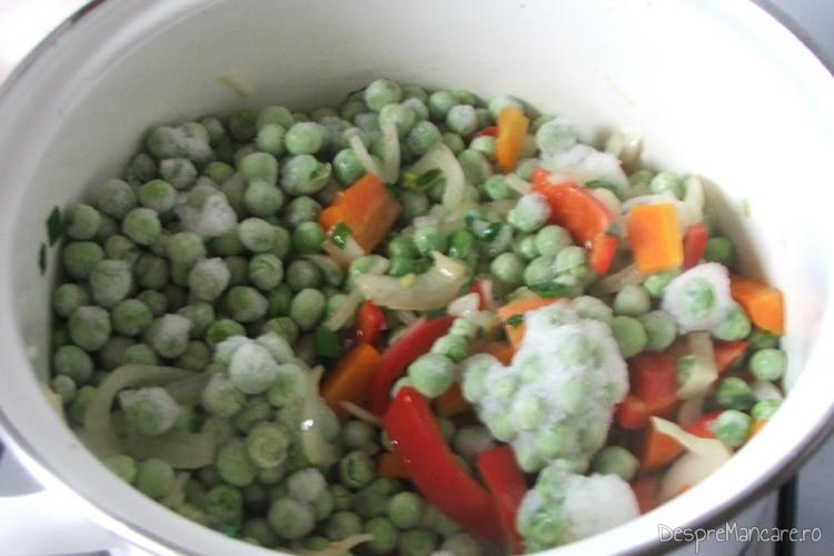 Calire legume congelate.