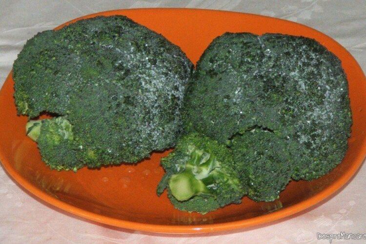 Capatana de brocoli refrigerata pentru piure'.
