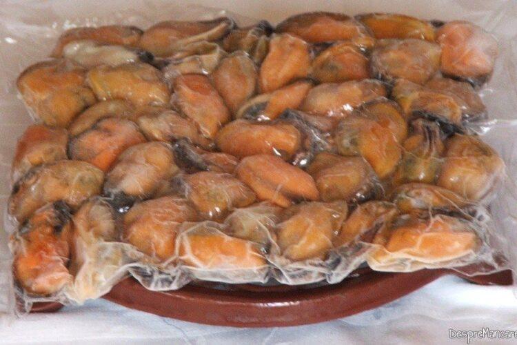 Scoici refrigerate/ congelate pentru paste fainoase.