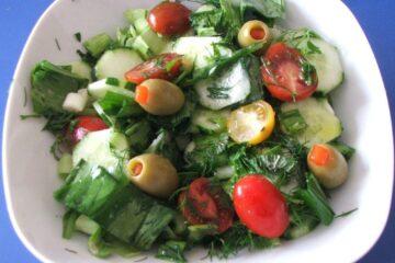 Salata greceasca.
